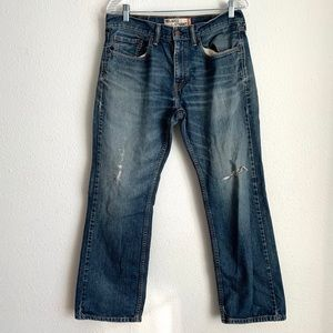 Levi 32x30 559 relaxed straight distressed…